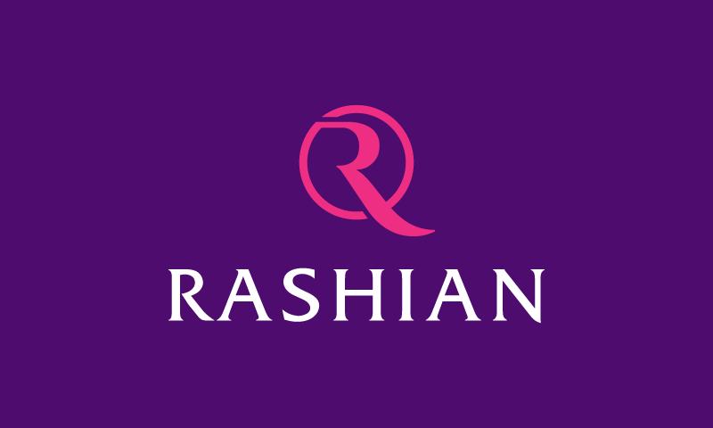 Rashian - Fashion business name for sale