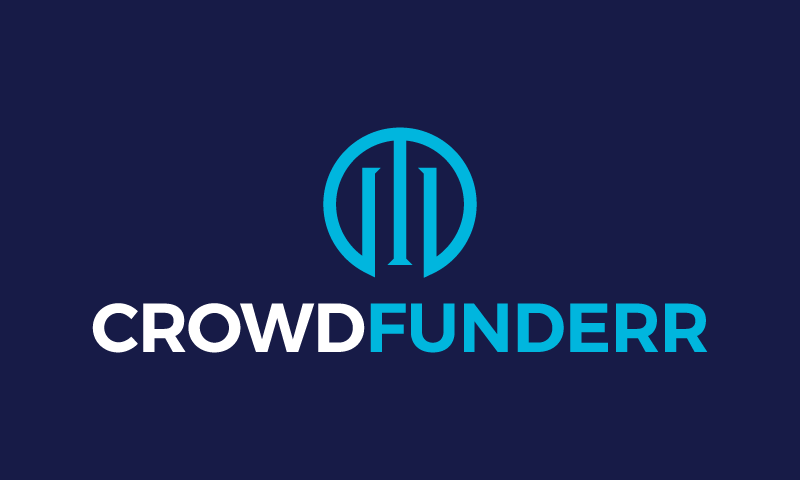 Crowdfunderr - Fundraising brand name for sale