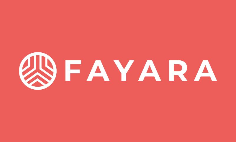 Fayara - E-commerce company name for sale