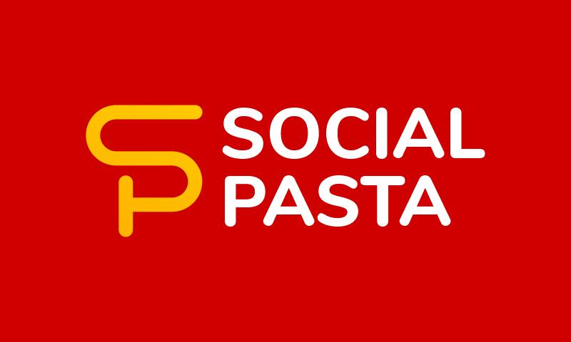 Socialpasta - Social networks domain name for sale