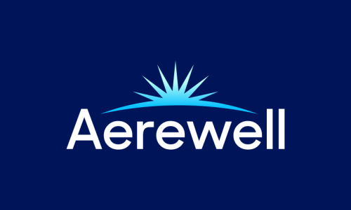 Aerewell - Wellness startup name for sale