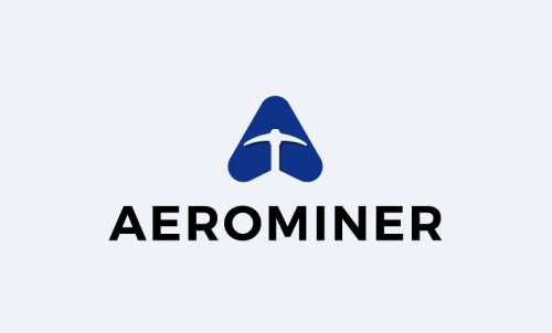 Aerominer - Mining startup name for sale