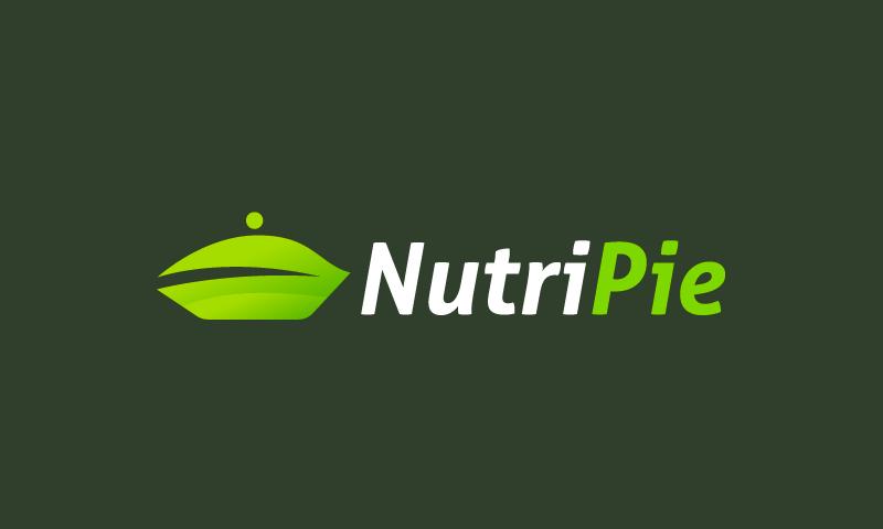 Nutripie - Nutrition domain name for sale