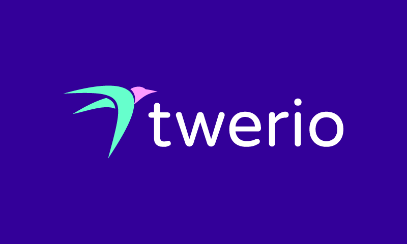 Twerio - Social networks domain name for sale