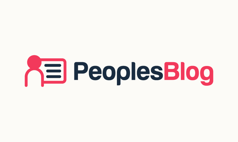 Peoplesblog - Education brand name for sale