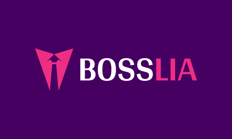 Bosslia - Retail startup name for sale