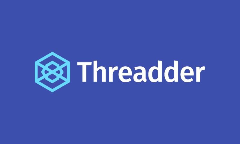 Threadder - Social brand name for sale