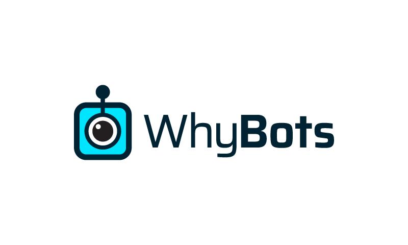 Whybots - Robotics startup name for sale