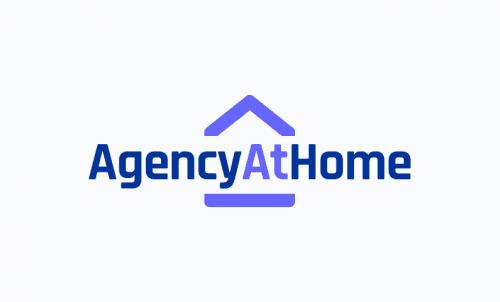 Agencyathome - Marketing company name for sale