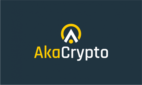 Akacrypto - Cryptocurrency company name for sale