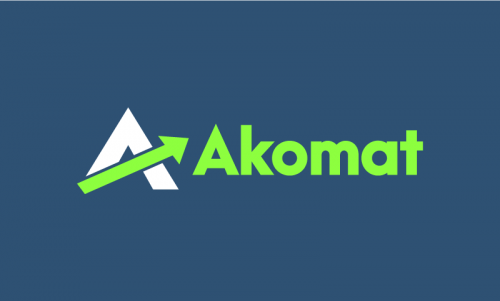 Akomat - Business domain name for sale