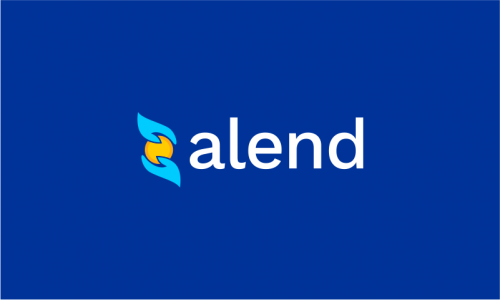 Alend - Banking company name for sale