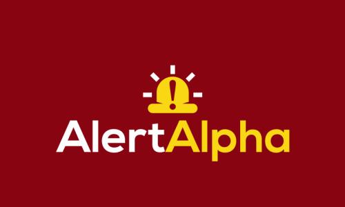 Alertalpha - Technology domain name for sale