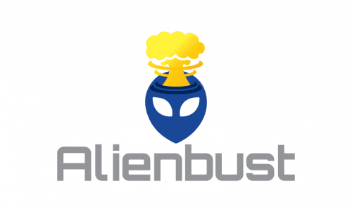 Alienbust - Contemporary startup name for sale