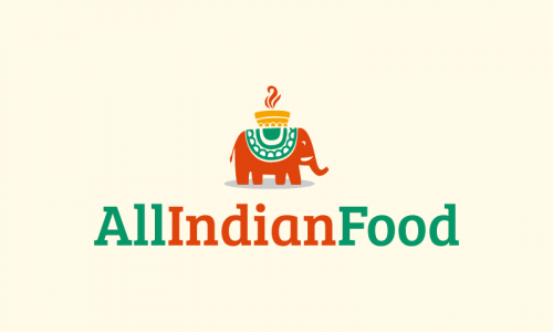 Allindianfood - Dining company name for sale