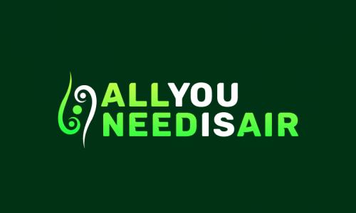 Allyouneedisair - Technology brand name for sale
