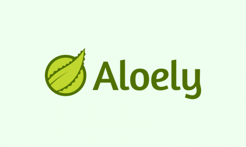 Aloely - Health domain name for sale