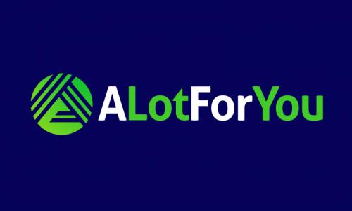 Alotforyou - Finance business name for sale