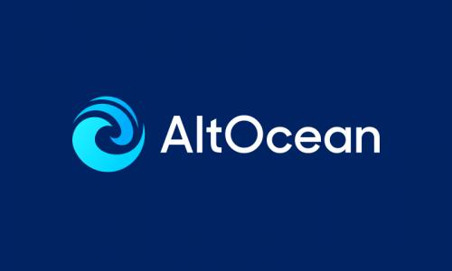 Altocean - E-commerce startup name for sale