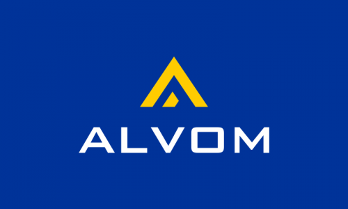 Alvom - Technology startup name for sale