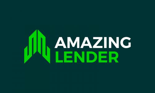 Amazinglender - Finance company name for sale