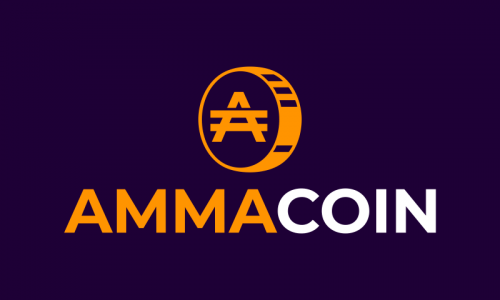 Ammacoin - Cryptocurrency startup name for sale