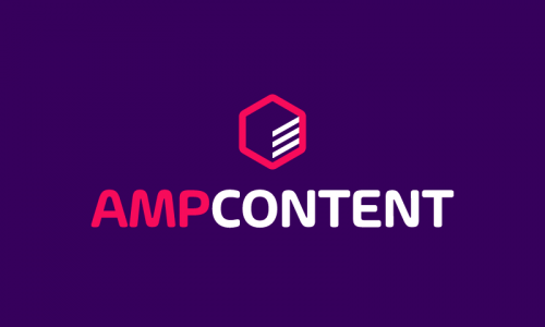 Ampcontent - Technology business name for sale
