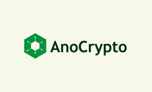 Anocrypto - Cryptocurrency startup name for sale