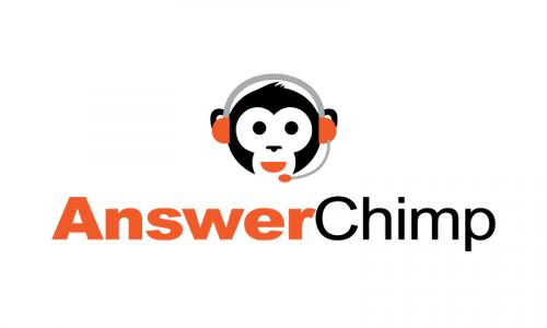 Answerchimp - Modern startup name for sale