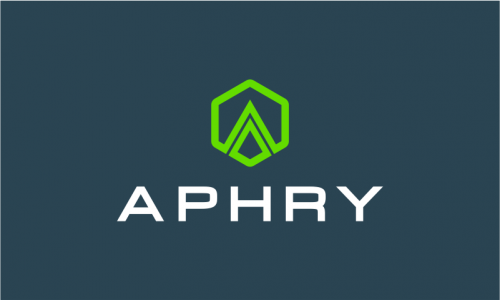 Aphry - Masculine startup name for sale