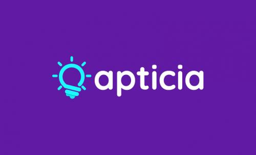 Apticia - E-learning business name for sale