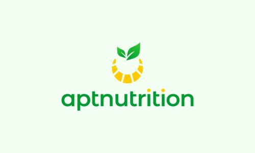 Aptnutrition - Healthcare domain name for sale