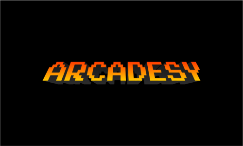 Arcadesy - Video games startup name for sale