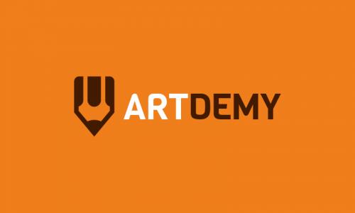 Artdemy - Art domain name for sale