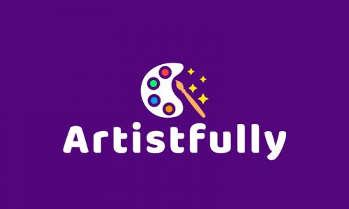 Artistfully - Art domain name for sale
