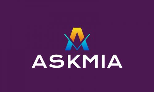 Askmia - Business domain name for sale