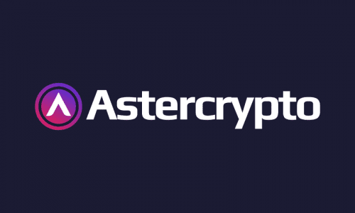 Astercrypto - Cryptocurrency brand name for sale