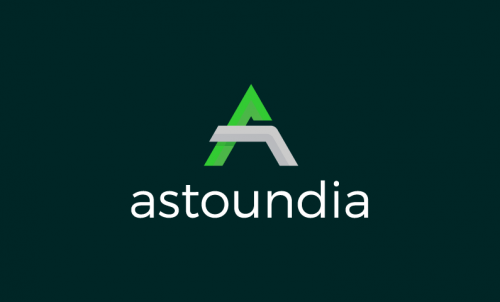 Astoundia - Playful business name for sale