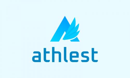 Athlest - E-commerce startup name for sale