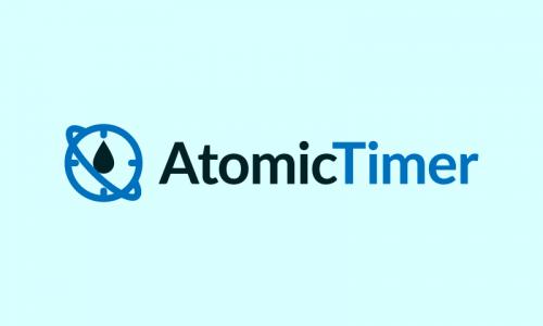 Atomictimer - Technology brand name for sale