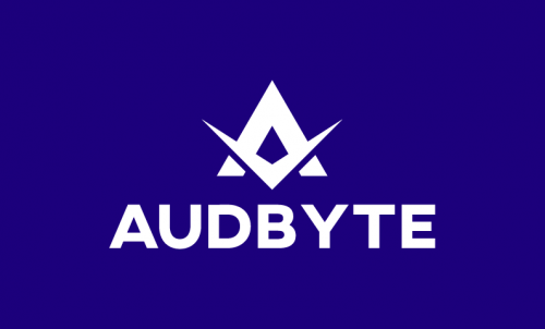 Audbyte - Music startup name for sale