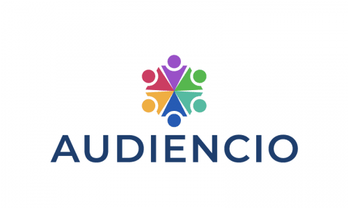 Audiencio - Marketing startup name for sale