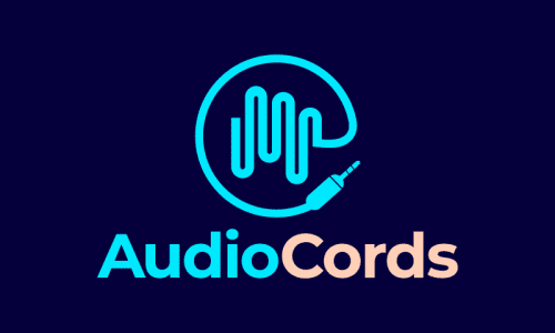 Audiocords - Audio domain name for sale