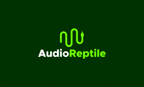 Audioreptile - Music company name for sale