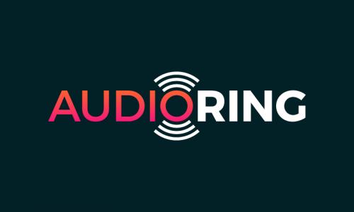 Audioring - Media brand name for sale