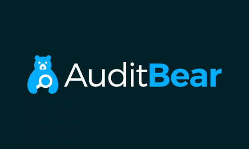 Auditbear - Playful business name for sale