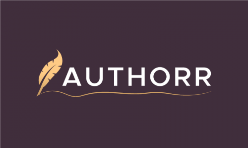 Authorr - Writing startup name for sale