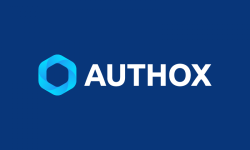 Authox - Writing startup name for sale