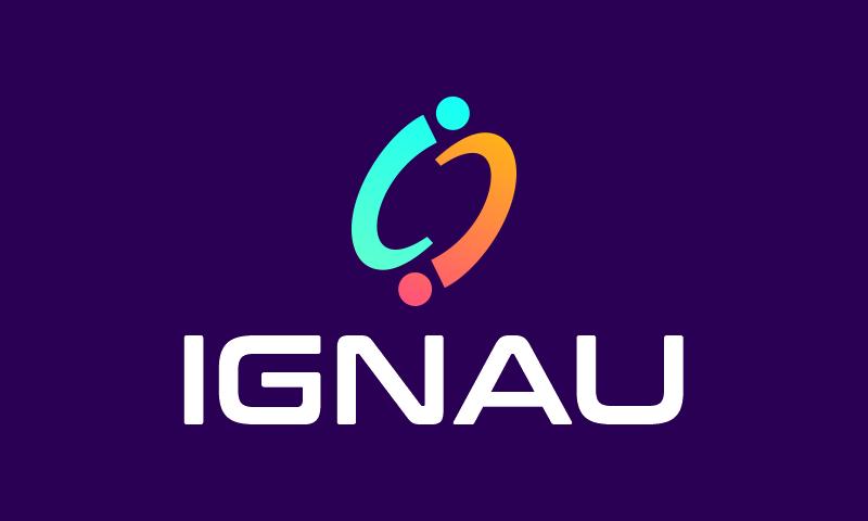 Ignau - E-commerce domain name for sale