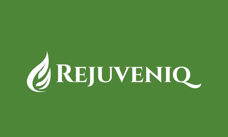 Rejuveniq - Wellness brand name for sale